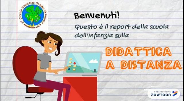 REPORT DELLA SCUOLA DELL'INFANZIA SULLA DIDATTICA A DISTANZA